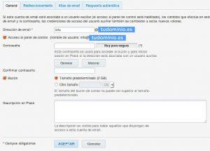 Tutorial: Administración de e-mail en Plesk