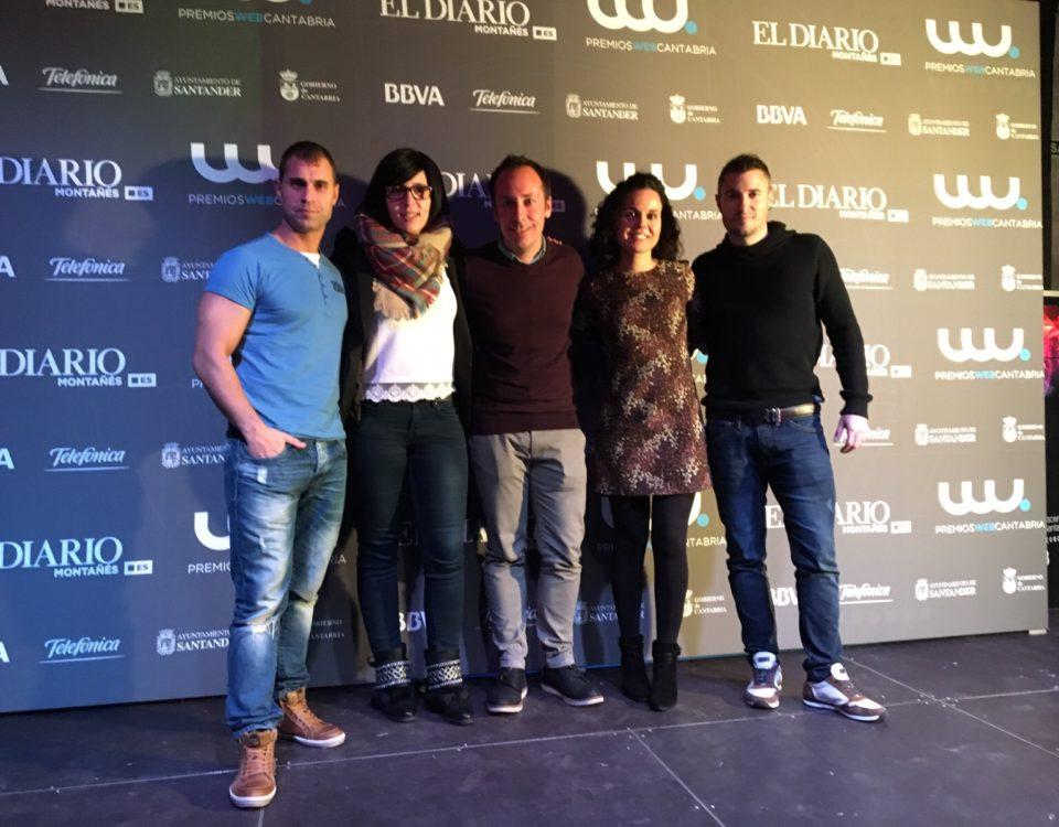 Premios Web Cantabria 2015 y Netkia