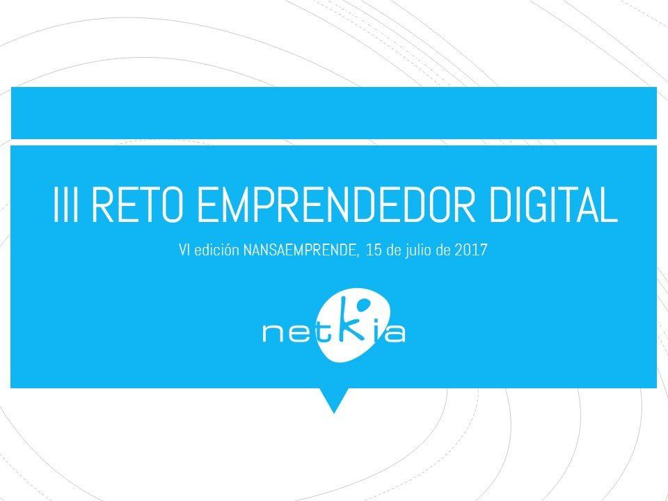 Reto emprendedor digital Nansaemprende